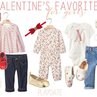 Baby Girls Valentine's Outfits