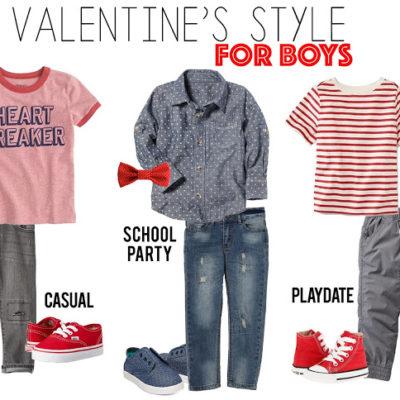 Valentine's Boy Style