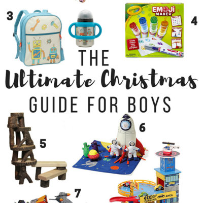 The Ultimate Christmas Gift Guide for Toddler Boys!