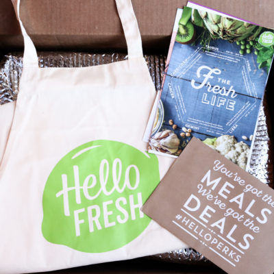 Making Mealtime Easier with HelloFresh