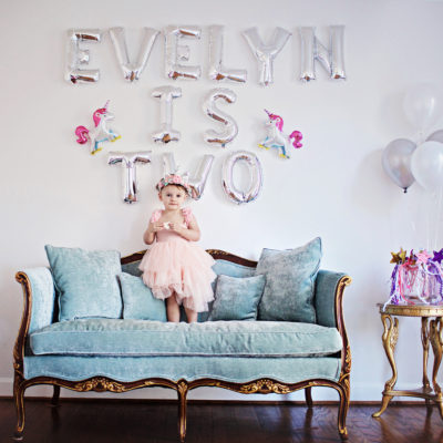 Evelyn is Two