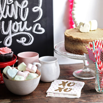 Valentine's Coffee Station!