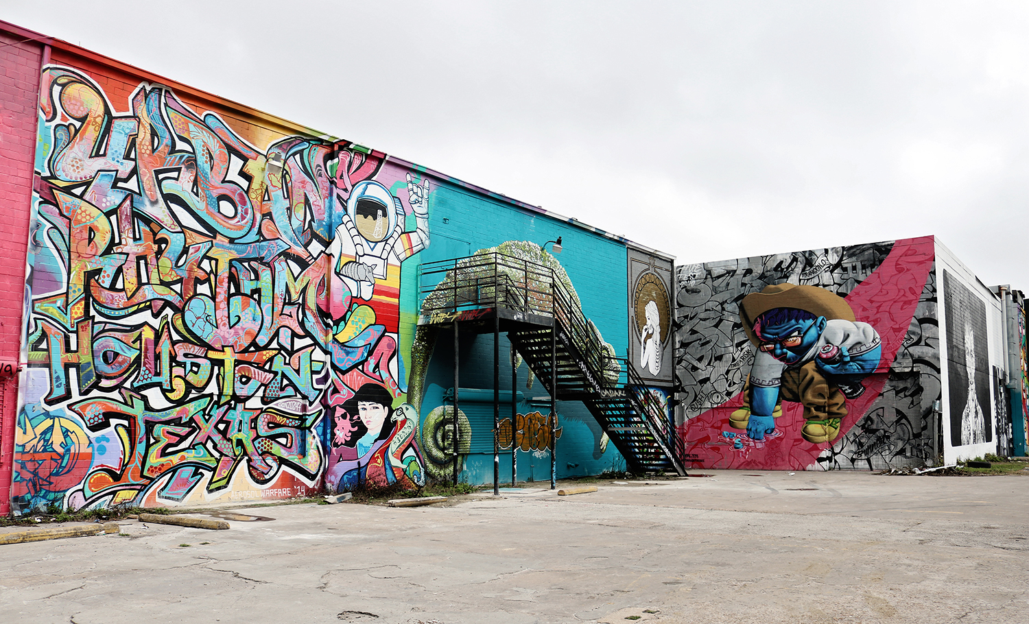 Houston murals you need to visit for A perfect day mural