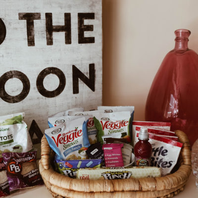 Creating an After School Snack Station