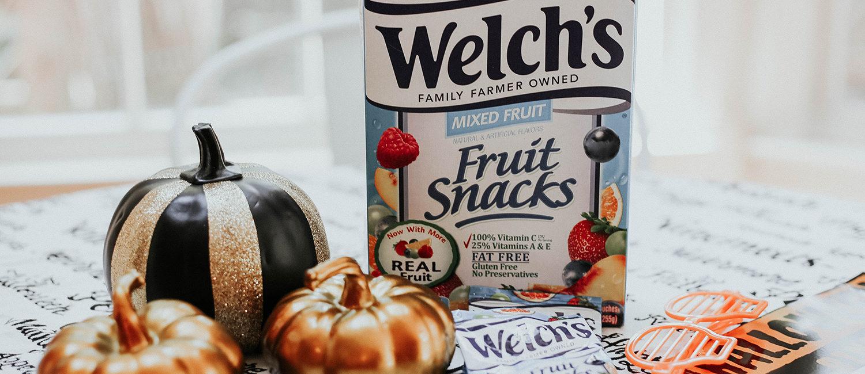 Halloween Bingo with Welch's