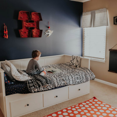 Henry's Big Boy Room Reveal with SANUS!