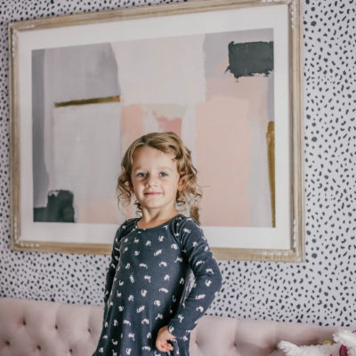 Evelyn's Big Girl Room Makeover with Minted!