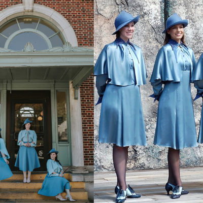 Beauxbaton School Girl Costume