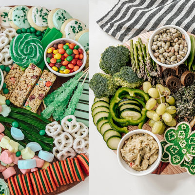 St. Patty's Day Sweets Board – Two Ways